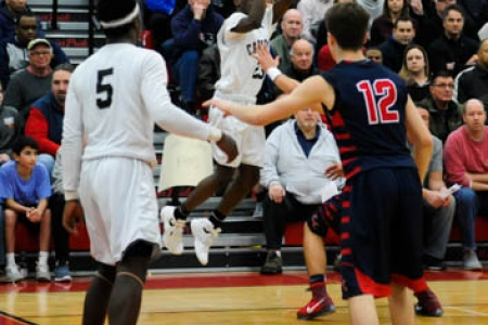 2016 Boys Basketball Gallery: Cambridge R&L VS. Central Catholic